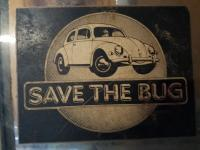 Save The Bug decal sticker
