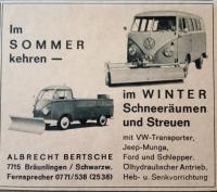 Barndoor snow plow ad