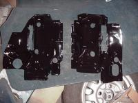 73 412 engine tin, left and right
