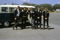 1967 Bus and Boy Scout Explorers
