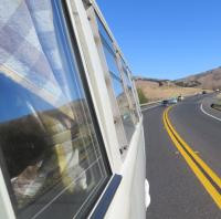 """Split Buses at the """"SHE-852 Pt. Reyes Cruise"""", California. Sunday Oct. 20th, 2019"""