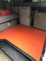 Eurovan rubber floor
