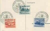 Postkarte from 1939 Berlin Auto Show (reverse side)
