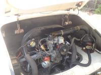 1966 Karmann Ghia Convertible Engine Compartment