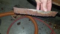 Vw beetle running board fastener panel strip replacement