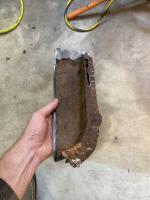 73 Interior dogleg Repair