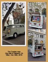 """""""The Toaster"""" near Oakland's City Hall, California, 10/30/2019"""