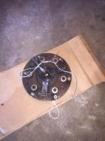 Throw out bearing clutch disk pressure plate