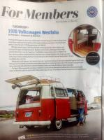 Westy article in AAA mag