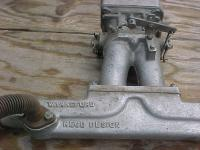 Warneford 40hp manifold and 3 bolt weber