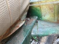 Ghia torsion to body bolt hole