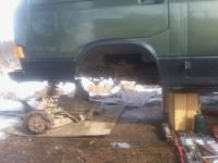 syncro front frame repair