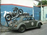 Motorcycle rack