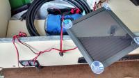 Propex installation with C02/Gas alarm - battery charging