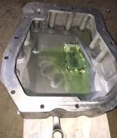 smallcar cast oilpan repair