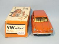 NOS Orange Cko Squareback / Variant tin toy in the box