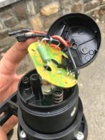 Electric fuel pump leak