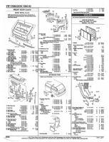 Vanagon Parts List 1980-1992