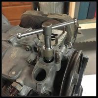 broken fuel pump base