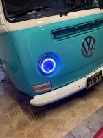 Bay window LED headlight fitting