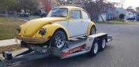 1971 Yellow/White Super Beetle