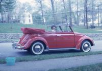 Red Convertible Beetle