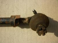 Ghia only pitman arm and tie rods