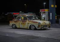 1964 notchback at night