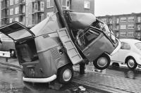 split van wreck