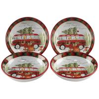 Christmas themed bowls with a 23-Window