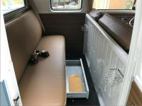 Rear seat custom drawer