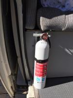 Fire Extinguisher Mount - 89 Westy