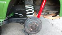 Rear Coil Spring Installation