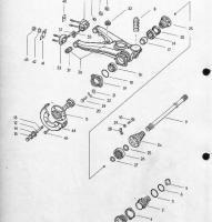 vw 411-412 axle part #s