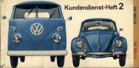 Genuine service book VW Split Bus & Bug