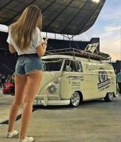 Girl & Bus