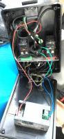 Engine block heater electrical control box