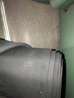 Split running board rubber McMaster 3727t42