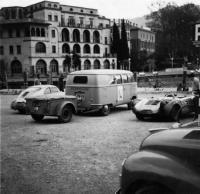 Porsche 550 & Bus