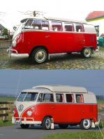 VW T1 Dormobile Red 9 Design