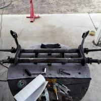 DIY narrow ball joint beam