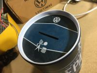 VW box lunch and money saving box