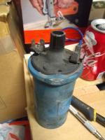 Damaged coil