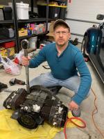 76 convertible rebuild