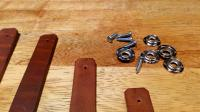 Westy SO23 leather straps reproduction