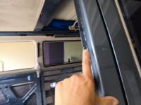 Rear window removal (tools & technique)
