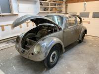 """Raisedup58"" original paint 1958 light bronze ragtop build"