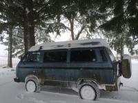 Syncro in the snow