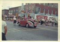 Vintage photo - 1960's parade Beetle