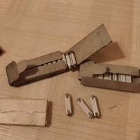 Spare fuse papper box
